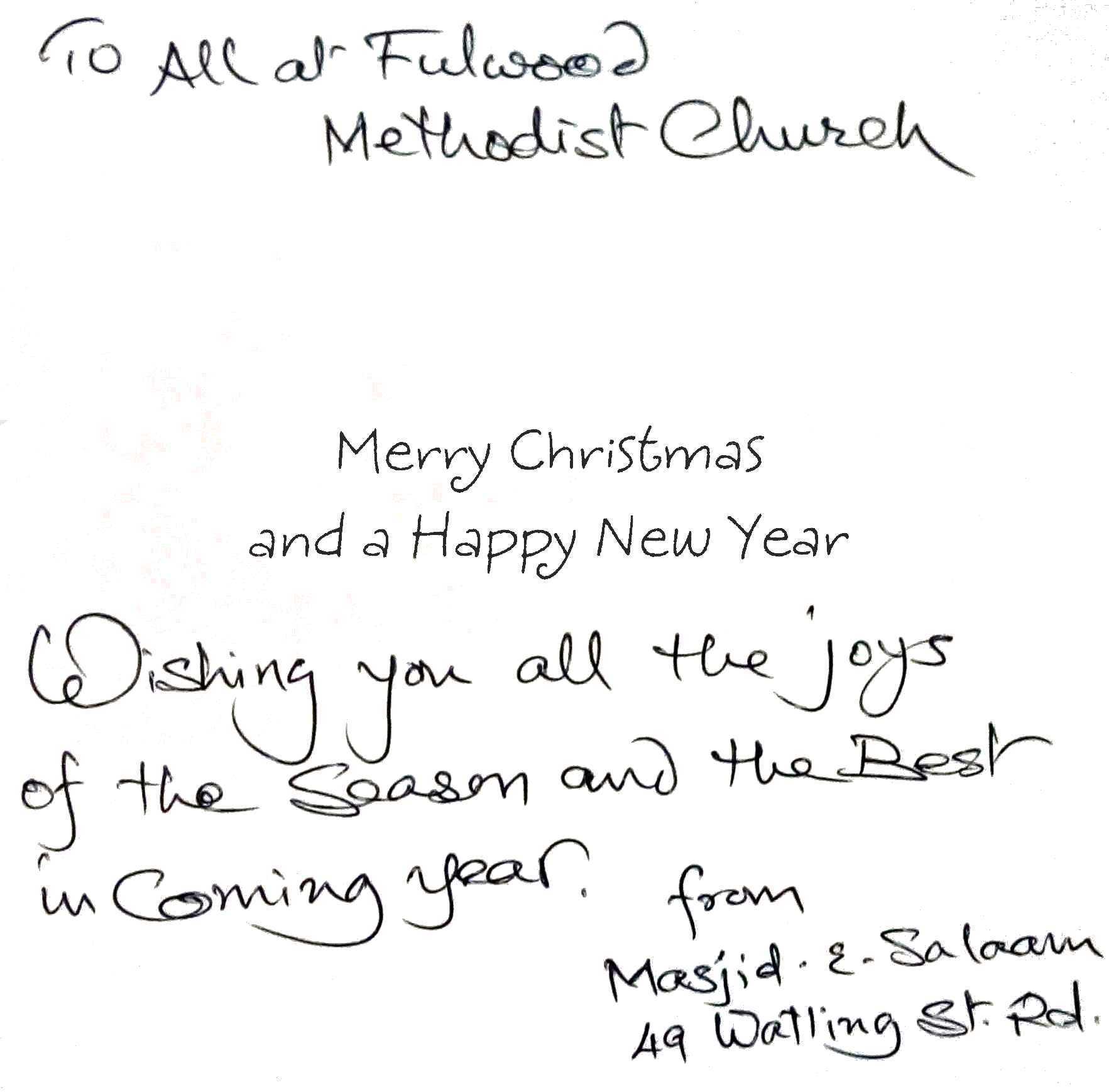 FULWOOD METHODIST CHURCH